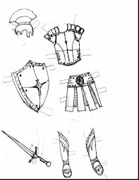 impressive armor of god with armor of god coloring pages