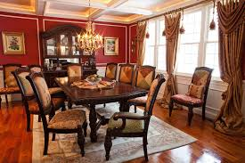 Swag Curtains For Dining Room Surprising Swag Curtains Decorating Ideas
