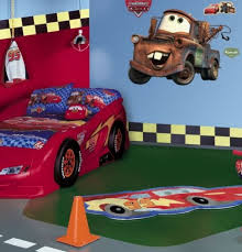 Car Themed Home Decor Lightning Mcqueen Bedroom Decor Mark Cooper Re And Incredible