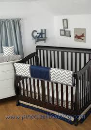 Navy Nursery Bedding Navy Bedding Top Blue Bedding Pottery Barn With Navy Bedding