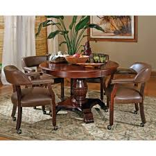 Upholstered Dining Room Chair Gorgeous Dining Room Chairs With Casters Ideas