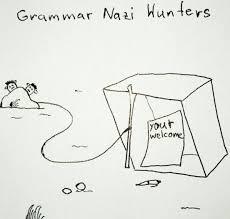 Grammer Nazi Meme - grammar nazi hunters meme guy