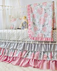floral crib bedding archives lottie da baby
