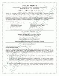 Best Resume Format For Teachers by Special Education Teacher Resume Samples Best Resume Collection