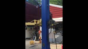 outdoor car lift youtube