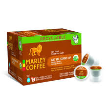 light roast k cups marley coffee get up stand up k cup pods light roast coffee mild