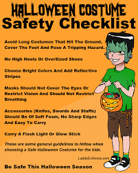 costume safety tips for halloween party halloweenonearth com