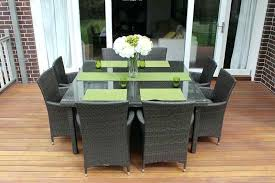 square outdoor dining table wicker outdoor dining 8 seat square outdoor wicker dining setting
