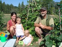 Family Garden - shaw family community gardens salt spring island farmland trust