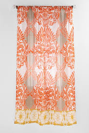 Sheer Orange Curtains Curtain Curtain Orange Sheertains Walmart Burnt Colored At