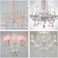 Girls Pink Chandelier Lamp Create An Adorable Room For Your Ideas Including Chandelier