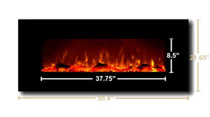 onyx and ivory electric fireplaces by touchstone youtube