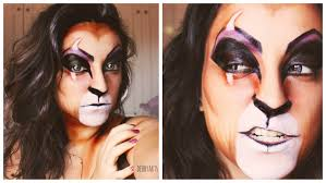 scar makeup tutorial halloween 2013 youtube