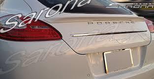 porsche panamera style porsche panamera sedan trunk wing 2010 2013 490 00 part