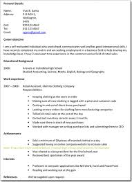How To Make A Professional Looking Resume Writing A Professional Cv Luckysters