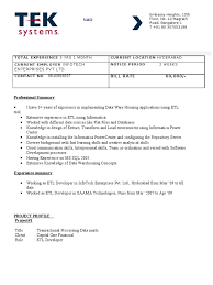 Sample Informatica Etl Developer Resume by Sample Informatica Etl Developer Resume Free Resume Example And