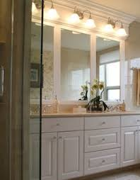 Bathroom Mirrors And Lights Idea Guest Bathroom Mirror And Lighting Only Redeco Inspiration