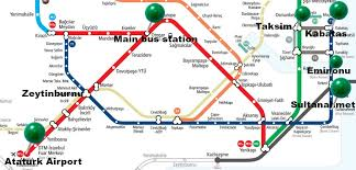 istanbul metro map istanbul metro map description for tourists istanbul7hills