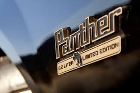 chevrolet car logo in 1965 chevy was designing the panther what became of it