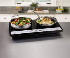 80cm Induction Cooktop Waring Pro Ict400 Double Induction Cooktop Youtube