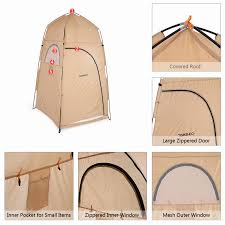 tomshoo portable outdoor shower bath changing fitting room tent tomshoo portable outdoor shower bath changing fitting room tent shelter camping beach privacy toilet
