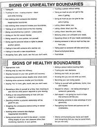 Healthy And Unhealthy Relationships Worksheets Healthy Boundaries Worksheet Images Behavior