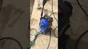 1500 work choice pressure washer review part 2 youtube