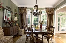 curtain ideas for dining room dining room dining room window treatments ideas bay treatment
