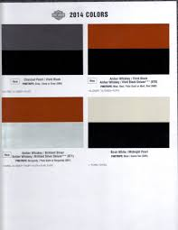 2014 color chart page 5 harley davidson forums