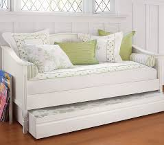 Full Size Trundle Bed With Storage Bedroom Modern Double Bed In Luxury White Daybeds With Trundle