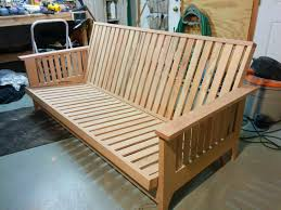 Mission Style Futon Couch Futon Woodworking Plans Roselawnlutheran