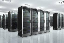 data center servers network servers in datacenter stock photo scanrail 25316057