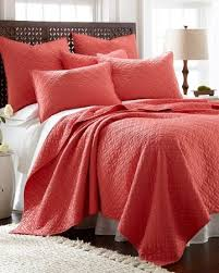 Solid Colored Comforters Best 25 Coral Bedspread Ideas On Pinterest Coral And Grey