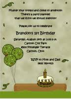 theme party invitations for all occasions
