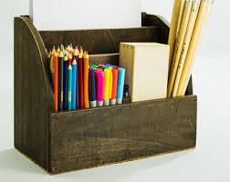 dark wood desktop mail organizer paris boutique style wooden
