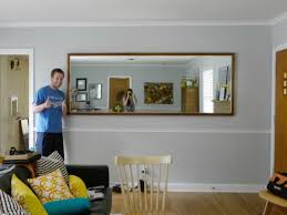 frameless picture hanging exclusive idea hang mirror on wall or how to a heavy c r f t without