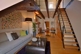 Lofted Bedroom by Loft Bedroom Apartment Prague 1 Old Town Prague Stay