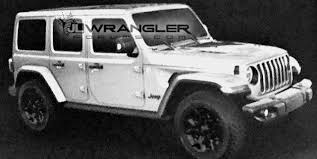 white jeep rubicon here are all the 2018 jeep wrangler changes jeep wrangler redesign