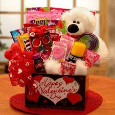 valentines baskets kids hugs s day gift basket