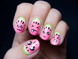 best 25 watermelon nail designs ideas on pinterest watermelon