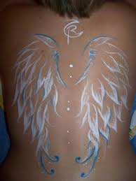 tattoo angel simple download free amazing simple white ink angel wings tattoo to use and