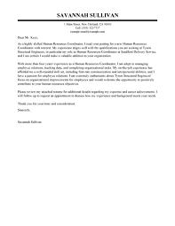 hris administrator cover letter