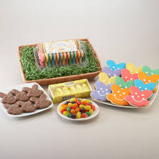 peeps basket easter cookie bouquet cookies chocolates jelly beans and peeps