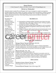 Certified Hand Therapist Resume Sample by Physical Therapist Resume Template Resume Examples Physical
