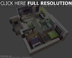 house design plans 3d 3 bedrooms 3d simple house plans designs 3 bedroom floor plan ground luxihome