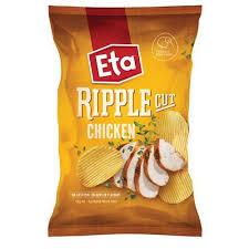 ripple chips eta ripple cut potato chips chicken 150g kiwi corner dairy