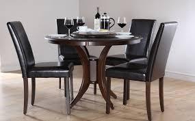 Awesome Black Wood Dining Room Sets Ideas Room Design Ideas - Black wood dining room table