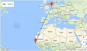 Germany On A World Map by 7 Night Stay In Gambia For U20ac310 Including Flights From Amsterdam