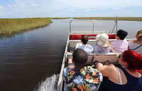 fan boat tours miami seaplane airboat adventure everglades tour miami seaplane