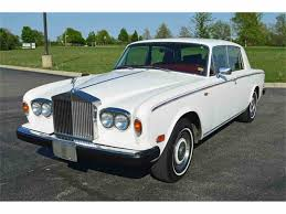 roll royce burgundy 1980 rolls royce silver shadow for sale classiccars com cc 986318